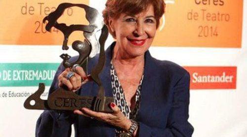 Concha Velasco, radiante y homenajeada en la ceremonia de los Premios Ceres 2014