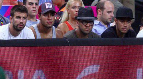 Marc Bartra, Busquets, Dani Alves y Neymar, testigos de la victoria de Estados Unidos en el Mundobasket 2014