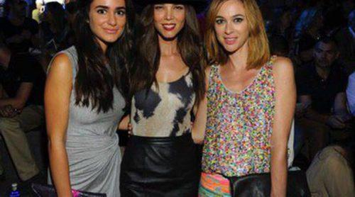 Natalia, Marta Hazas y Lydia Bosch, en el front row de la apertura de Madrid Fashion Week primavera/verano 2015