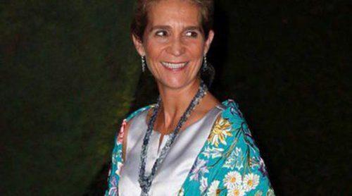 La Infanta Elena se une a la Familia Real Griega en la celebración de las Bodas de Oro de los Reyes de Grecia