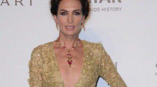 Naty Abascal, Nieves Álvarez y Poppy Delevingne en la Semana de la Moda de Milán