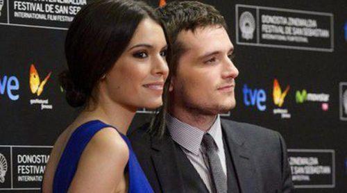 Josh Hutcherson y Claudia Traisac dan muestras de su amor en la alfombra roja de 'Escobar: Paraíso perdido'