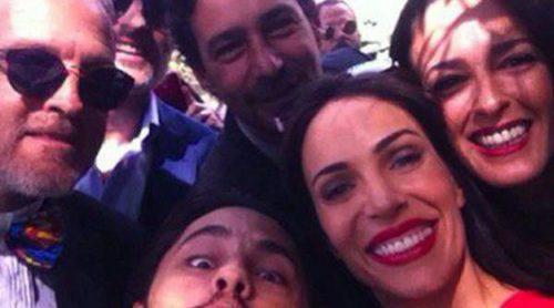 Jesús Olmedo, Juana Acosta, Elia Galera y Mónica Estarreado acuden a la boda de Bárbara Muñoz