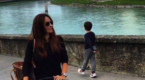 La escapada de Nagore Aranburu a Salzburgo en familia