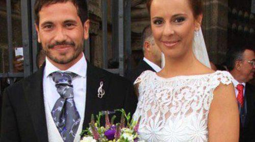 David de María y Lola Escobedo celebran una romántica boda con Juan José Padilla y Carmen Janeiro como invitados