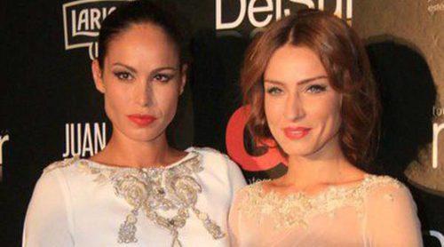 Raquel Jiménez y Mireia Canalda desfilan juntas en la Pasarela del Sur