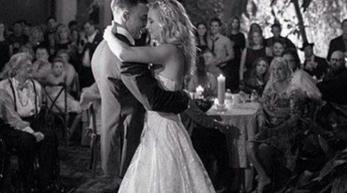 Candice Accola y Joe King se casan en una boda vampírica en Nueva Orleans