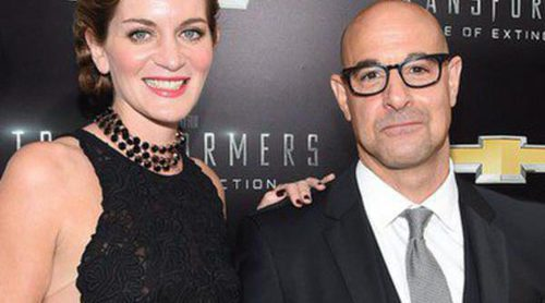 El actor de 'Los juegos del hambre' Stanley Tucci y Felicity Blunt esperan su primer hijo
