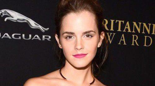 Emma Watson, Robert Downey Jr. y Mark Ruffalo reciben el premio BAFTA Britannia 2014