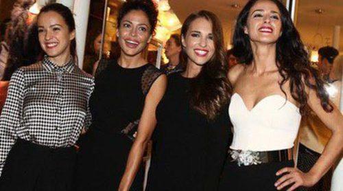 Paula Echevarría, Verónica Sánchez, Mónica Estarreado y Patricia Pérez se van de inauguración a París