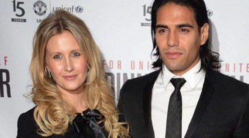 Lorelei Tarón presume de embarazo junto a Falcao en una cena benéfica de Unicef