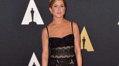 Jennifer Aniston, Marion Cotillard y Keira Knightley acompañaron a Hayao Miyazaki en la entrega de su Oscar honorífico