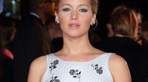 Jennifer Lawrence y Liam Hemsworth estrenan 'Los Juegos del Hambre Sinsajo Parte 1' a nivel mundial en Londres