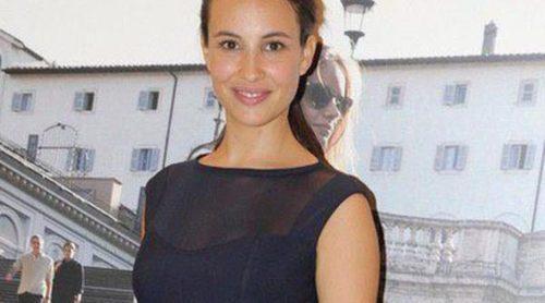 Xenia Tostado presume de embarazo en el Salón de Bebés y Mamás de Madrid