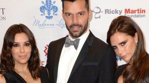 Victoria Beckham, Ricky Martin y Nicole Scherzinger arropan a Eva Longoria en la Global Gift Gala de Londres