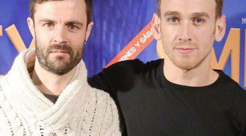 Eloy Azorín y Alejandro Albarracín apoyan a Ramón Pujol y Aitor Merino en el estreno de 'Smiley'