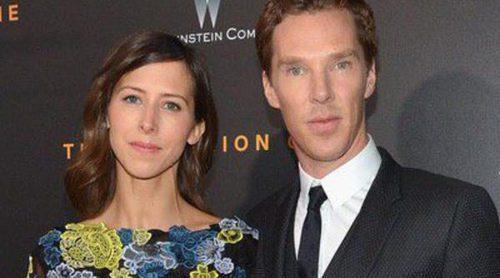 Benedict Cumberbatch y Sophie Hunter acuden al estreno de 'The Imitation Game' tras anunciar su boda