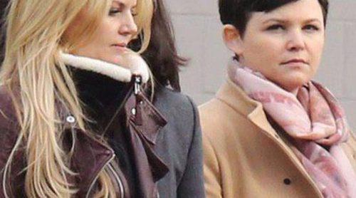 Los actores de 'Once Upon a Time' se congelan en el rodaje de la cuarta temporada de la serie en Canadá