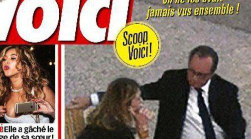 Françoise Hollande y Julie Gayet hacen vida de pareja en el Elíseo tras su reconciliación