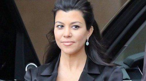 Kourtney Kardashian antes de dar a luz a su tercer hijo: