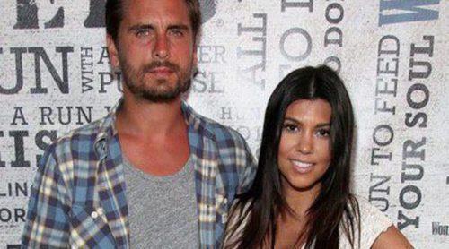 Kourtney Kardashian disfruta en familia de sus últimos días de embarazo