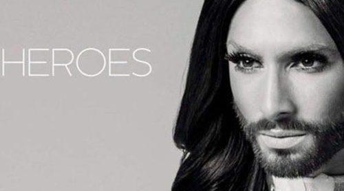 Conchita Wurst estrena 'Heroes', su nuevo single y videoclip