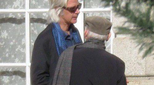 Jacobo Fitz-James Stuart y Fernando Martínez de Irujo regresan al Palacio de Liria tras el funeral de la Duquesa de Alba