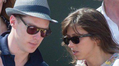 Benedict Cumberbatch piropea a su prometida Sophie Hunter