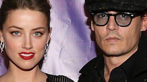 Amber Heard, indignada por la actitud de Johnny Depp en los Hollywood Film Awards