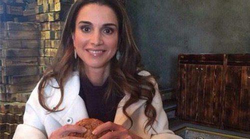 Rania de Jordania también es adicta a las calorías