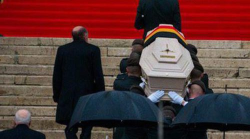 Bélgica se despide de la Reina Fabiola con un emotivo funeral con sabor español