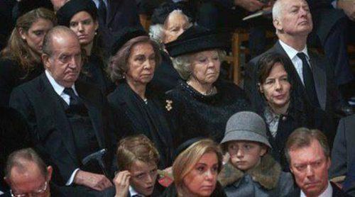 La Familia Real Británica y la de Mónaco, las ausentes en el funeral de la Reina Fabiola de Bélgica