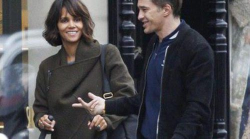 Halle Berry disfruta de un paseo por París con Olivier Martínez y su hijo Maceo