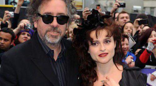 Tim Burton y Helena Bonham Carter rompen tras 13 años de relación y dos hijos en común