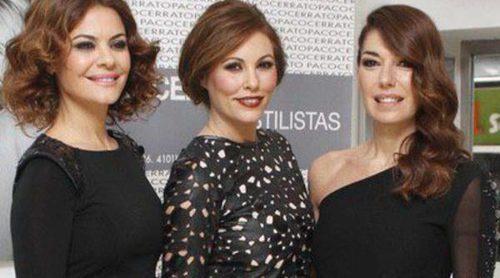 María José Suárez, Raquel Rodríguez y Raquel Revuelta presentan las tendencias capilares de 2015