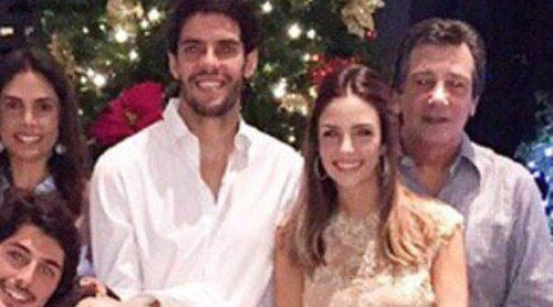 Kaká y Caroline Celico pasan las navidades juntos tras anunciar su separación