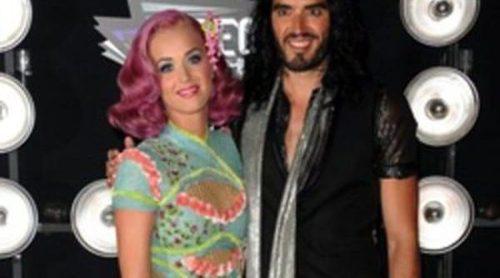 El matrimonio de Katy Perry y Russell Brand se tambalea tras anunciar que querían ser padres