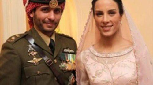 Los Príncipes Hamzah y Basma celebran su boda ante los Reyes Abdalá y Rania de Jordania