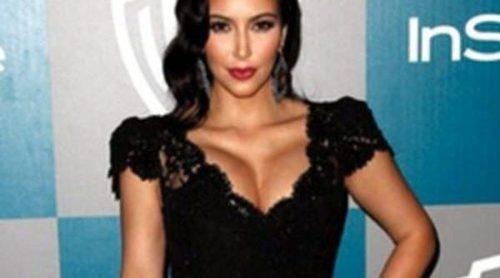Kim Kardashian, Paz Vega y Miranda Kerr brillan en la fiesta Warner Bros tras los Globos de Oro 2012