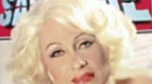 Rosa Benito emula a Marilyn Monroe en su posado más sexy para la portada de la revista 'Sálvame'