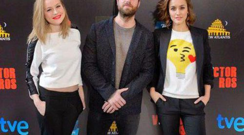 Carles Francino, Megan Montaner y Esmeralda Moya presentan la miniserie 'Víctor Ros'
