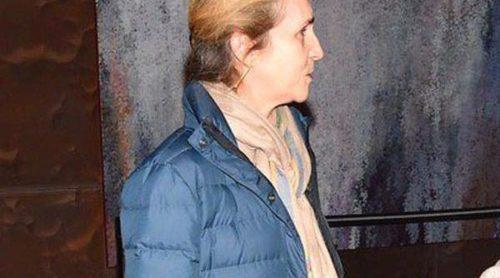 La Infanta Elena se codea con Innocence, Camela, Juanjo Artero y Rafael Amargo en un estreno