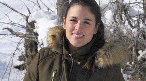 Mario Casas y Adriana Ugarte finalizan en Huesca el rodaje de 'Palmeras en la nieve'