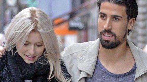 Sami Khedira y Lena Gercke, dos enamorados paseando por las calles de Madrid