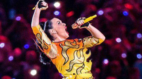 La actuación de Katy Perry en la Super Bowl 2015: de domadora de leones a seducir a Lenny Kravitz