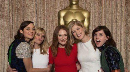 Rosamund Pike, Eddie Redmayne, Reese Witherspoon, Bradley Cooper,... cita de los nominados a los Oscar 2015