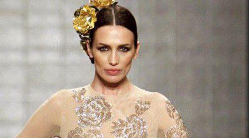 Nieves Álvarez acapara pasarelas: de la Alta Costura de París a la moda flamenca de Vicky Martín Berrocal