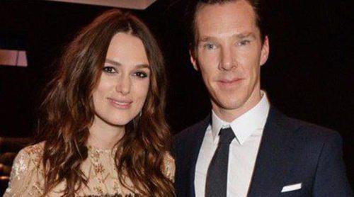 Benedict Cumberbatch y Keira Knightley, dos futuros papás a las puertas de los BAFTA 2015