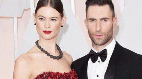 Nicole Kidman y Keith Urban, Adam Levine y Behati Prinsloo,... las parejas de los Oscar 2015