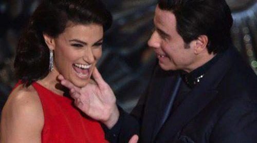 La broma de Idina Menzel a John Travolta o el desnudo de Neil Patrick Harris, entre los mejores momentos de los Oscar 2015